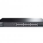 TP-Link JetStream 24-Port Gigabit L2 Managed PoE+ Switch with 4 SFP Slots T2600G-28MPS (TL-SG3424P)
