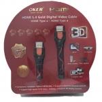 OKER Cable HDMI 10M