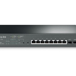 TP-Link JetStream 8-Port Gigabit Smart PoE+ Switch with 2 SFP Slots T1500G-10MPS