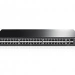 TP-Link JetStream 48-Port 10/100Mbps + 4-Port Gigabit L2 Managed Switch TL-SL3452