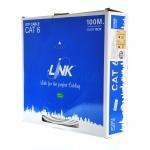 สายแลน LINK CAT 6 Indoor US-9006-1 100 เมตร (ภายในอาคาร)