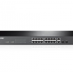TP-Link 16-Port 10/100Mbps + 2-Port Gigabit Smart Switch TL-SL2218
