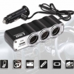 Car USB TWIN Socket WF-0120