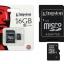 เมมโมรี่การ์ด Kingston 16 GB Class 10 thumbnail 1