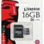 เมมโมรี่การ์ด Kingston 16 GB Class 4 thumbnail 1