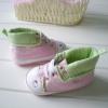 BE2020 (Pre) รองเท้าผ้าใบ Hello Kitty (0-1 ขวบ)