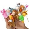 TO-003 ตุ๊กตานิ้วมือ ชุดสัตว์น่ารัก 2 (12 ตัว)