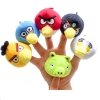 TO-007 ตุ๊กตานิ้วมือ ชุด Angry Birds (6 ตัว)