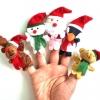 TO-006 ตุ๊กตานิ้วมือ ชุดวันคริสมาส (5 ตัว)