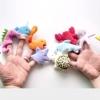TO-008 ตุ๊กตานิ้วมือ ชุดสัตว์ทะเล (10 ตัว)
