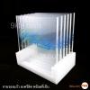 ชุดจานรองแก้วอะครีลิค พร้อมฐาน (สั่งผลิต 250 ชุดขึ้นไป)