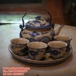 ชุดกาน้ำชาจีน รหัส3860pl