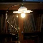 โคมไฟตั้งโต๊ะทองเหลือง รหัส231160tl