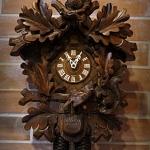 นาฬิกากุ๊กกู2ถ่วง8วัน รหัส12161kr