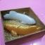 D 105 ของชำร่วย เทียนหอมปลามังกรเงินปลามังกรทองแพ็คในกล่องไม้ thumbnail 5