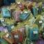 H 109 ของชำร่วย กล่องใส่นามบัตรผ้าไหมแพ็คถุงผ้าไหมแก้ว thumbnail 2