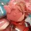 H 146 ของชำร่วย ตลับเมตรพวงกุญแจรูปหัวใจแพ็คกล่อง PVC คาดโบว์ลายจุด thumbnail 6