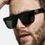 แว่นกันแดด SUPER Flat Top Black Gianni <ดำ> thumbnail 15