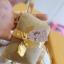 H 126 ของชำร่วย กระเป๋ากระสอบผูกโบว์ผ้าต่วนสีทอง thumbnail 1