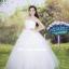 ชุดแต่งงานยาว เจ้าสาวใส่แล้วดูผอมเพรียวมากค่ะ พร้อมส่ง Size S-L thumbnail 2
