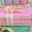 J 111 ของรับไหว้ ผ้าเช็ดตัวนาโนแพ็คในตะกร้าสาน thumbnail 3