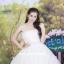 ชุดแต่งงานยาว เจ้าสาวใส่แล้วดูผอมเพรียวมากค่ะ พร้อมส่ง Size S-L thumbnail 5