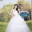ชุดแต่งงานยาว เจ้าสาวใส่แล้วดูผอมเพรียวมากค่ะ พร้อมส่ง Size S-L thumbnail 7