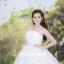 ชุดแต่งงานยาว เจ้าสาวใส่แล้วดูผอมเพรียวมากค่ะ พร้อมส่ง Size S-L thumbnail 3