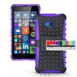 เคสมือถือ Microsoft Lumia 640 เคสรุ่นกันกระแทกขอบสี แบบที่4