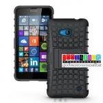 เคสมือถือ Microsoft Lumia 640 เคสรุ่นกันกระแทกขอบสี แบบที่5