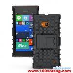 เคสมือถือ Microsoft Lumia 730 เคสพลาสติกกันกระแทกรุ่นขอบสี แบบที่1