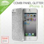 icover Combi Panel Series Glitter Case Cover for Apple iPhone 5