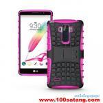 เคสมือถือ Case LG G4 Stylus เคสพลาสติกกันกระแทกรุ่นขอบสี แบบที่2