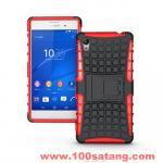 เคสมือถือโซนี่ Case Sony Xperia M4 Aqua/Dual เคสรุ่นกันกระแทกขอบสี แบบที่6