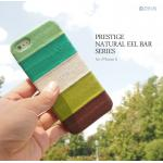 Zenus : Prestige Natural EEL Leather Bar Type Cover Case For Apple iPhone 5