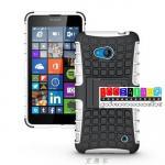 เคสมือถือ Microsoft Lumia 640 เคสรุ่นกันกระแทกขอบสี แบบที่6