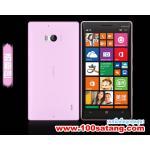 เคสมือถือ Microsoft Lumia 930 เคสนิ่มโปร่งใสแบบบางคลุมรอบตัวเครื่อง แบบที่1