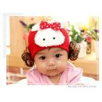 PF15501 หมวกสาวน้อย กระต่าย + ปอยผม