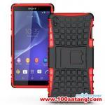 เคสมือถือโซนี่ Case Sony Xperia Z3 เคสพลาสติกด้านในนิ่มสไตล์กันกระแทกรุ่นขอบสี แบบที่5