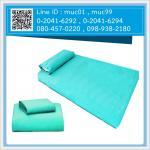 ผ้าปูที่นอน ไม่รัดมุม สีเขียว