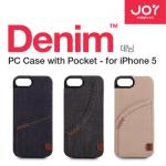 Denim Joy Factory Case with Pocket ES For Apple iPhone 5