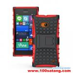 เคสมือถือ Microsoft Lumia 730 เคสพลาสติกกันกระแทกรุ่นขอบสี แบบที่4