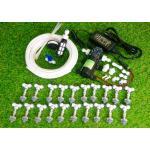 SAVE SET 4 ชุดพ่นหมอก 20 หัวพ่นหมอกเนต้าฟิล์ม 0.6 mm. + สายพ่นหมอก 30 เมตร ( ใช้ได้ทั้งแบตเตอรี่และไฟบ้าน 220 โวลต์ )