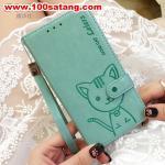 เคสมือถือซัมซุง Case Note5 เคสนิ่มสมุดเปิดข้างลายแมวน่ารักๆ DOMI CAT