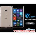 เคสมือถือ Microsoft Lumia 640 เคสนิ่มโปร่งใสแบบบางคลุมรอบตัวเครื่อง แบบที่1