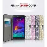 Dreamplus : PersianLeather Crystal Cubic Case Cover For Galaxy Note 4