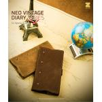 Zenus : Neo Vintage Genuine Leather Diary Cover Case for Sony Xperia Z Ultra