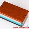 (352-024)เคสมือถือ HTC one M9 Plus ฝาพับเทกเจอร์หนังมันเงา PU สไตล์ MOFI