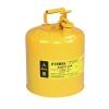 ถังเก็บสารเคมี,ของเหลวไวไฟ ขนาด 5 GEL (SAFETY CAN-YELLOW)