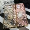 (442-015)เคสมือถือซัมซุงโน๊ต Case Note4 เคสนิ่มใสขอบชุบแววลายโมเสคแก้ว